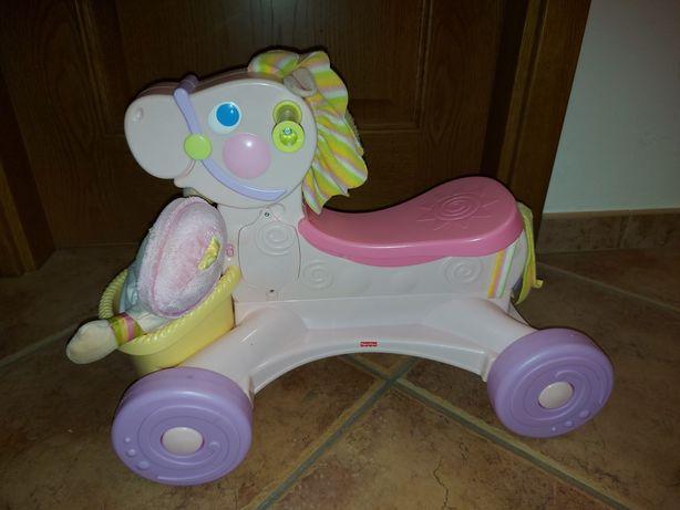 Cavalinho com boneca