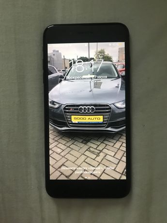 Продам iphone 7plus 128gb черный