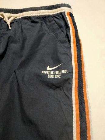 Бриджи штаны серые шорты спортивные Nike оригинал