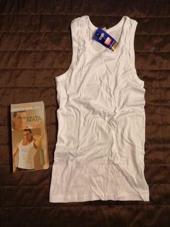 Podkoszulek męski SZATA - kolor biały - rozmiar XL