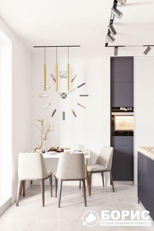 •АКЦИЯ: Дизайн интерьера от 210грн/м2: дизайн квартир, домов, магазино
