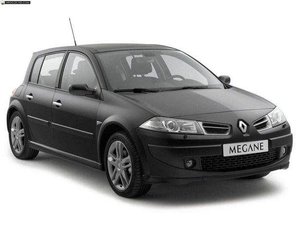 Renault Mégane II 1.5 dCI Hatchback, preto, negociável: ler descrição.