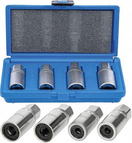 Nasadki klucze do urwanych śrub i szpilek 6-12mm zestaw