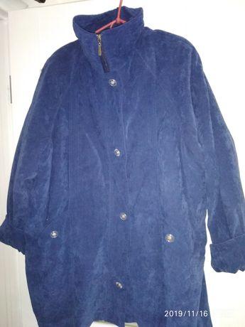 Теплая женская куртка пальто  р. XXL