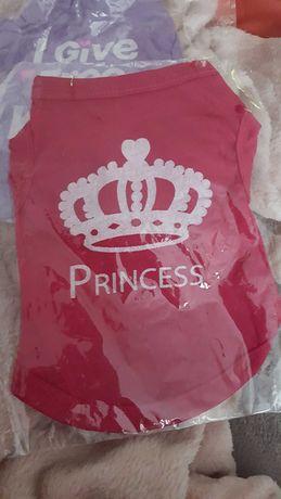 Princess- XS e S - Roupa para cão ou gato