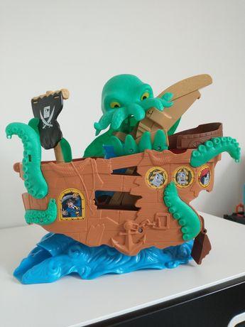 Morski potwór statek piracki Tomek i przyjaciele