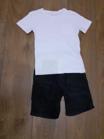 Koszulka r. 110 stan bdb bialy podkoszulek dla chłopca