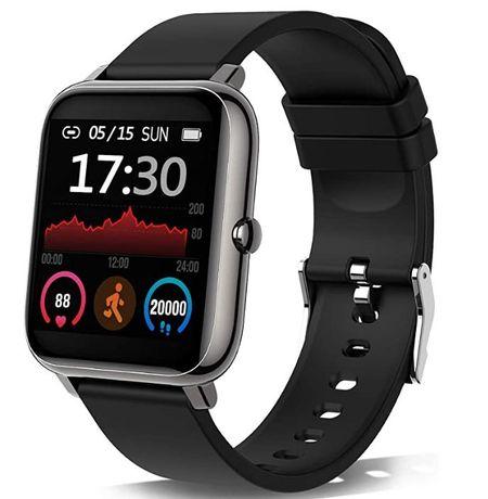 Smartwatch, relógio inteligente com pulsómetro,