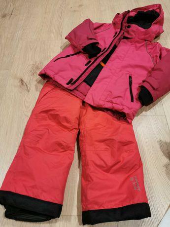 Zestaw zimowy /narciarski kurtka H&M i spodnie dla dziewczynki rozm.92