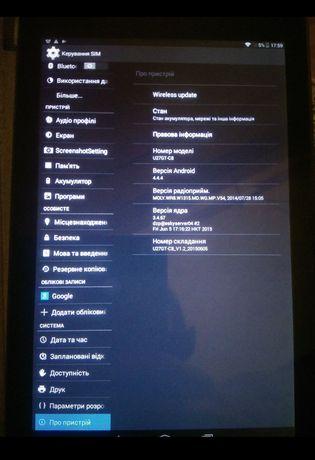 Планшет myTab Okama, Cube, U27GT-C8, TALK8X, GSM, 8' IPS, 1/8Gb, 8 яде