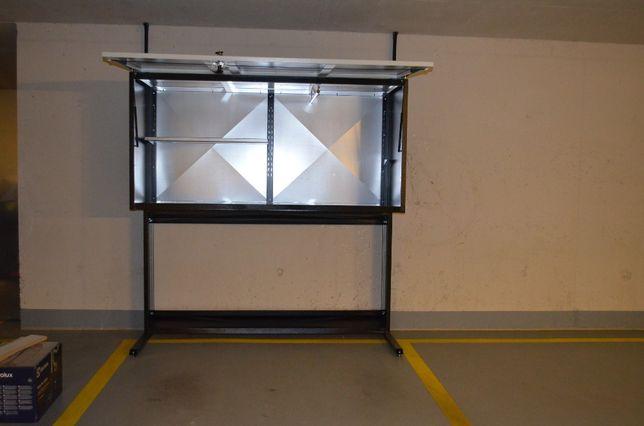 Szafa garażowa poj.1800l LAKIEROWANA szafy garażowe metalowe box boksy