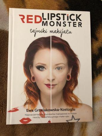 Książka Red Lipstick Monster Tajniki Makijażu