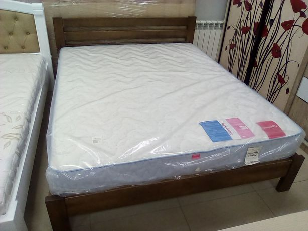 Ліжко дерев'яне 160х200