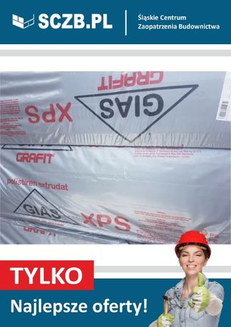 Styrodur XPS 300kPa Briotherm Gias grafitowy 5cm 10cm 50mm 100mm