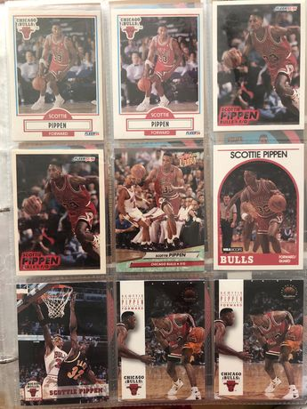 5 karty nba Scottie Pippen Chicago Bulls