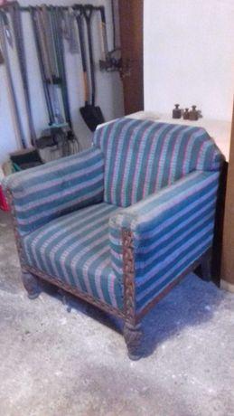 Fotel z lat 40/50
