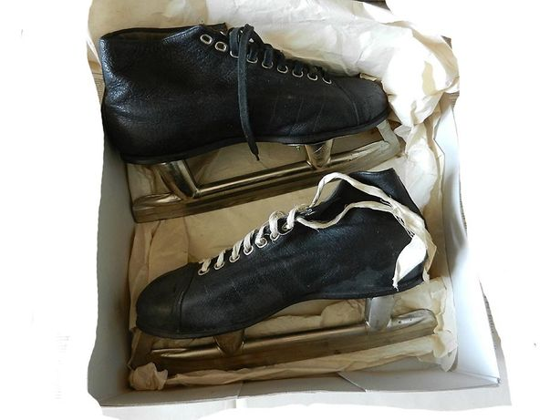 Коньки с ботинками, Made in USSR