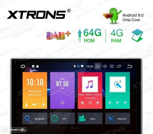 "AUTO RADIO GPS UNIVERSAL 2 DIN ECRA TACTIL 10.1"""