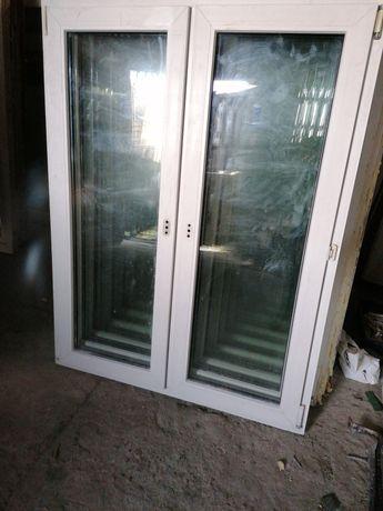 Okno 120 x 155 z demontażu pcv