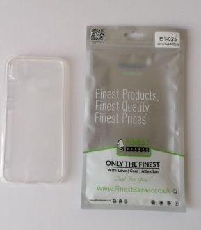 Capa Huawei p20 lite transparente NOVA portes incluidos
