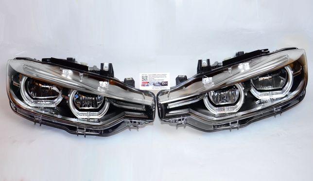 Фары BMW 3 F30 F31 F35 рестайлинг 2015-2019 Full LED пара НОВЫЕ