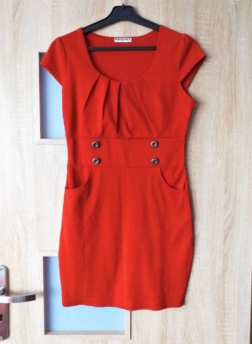 Sukienka ceglasta Rytel - image 1