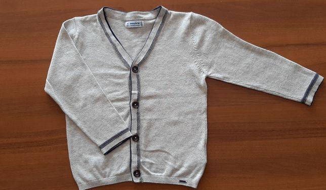 Sweterek chłopięcy Mayoral