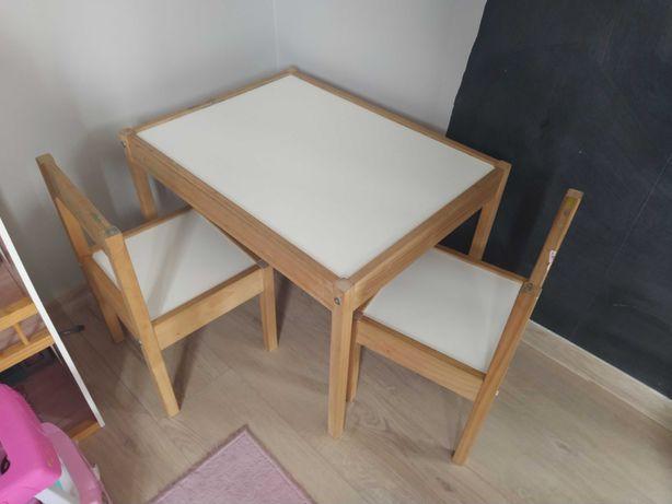 Stoliczek i krzesełka Ikea