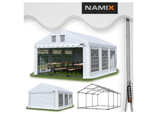 Namiot GRAND 5x6 ogrodowy imprezowy garaż wzmocniony PVC 560g/m2
