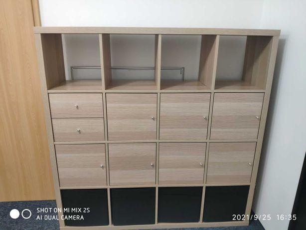 Regał Kallax Ikea z wkładami