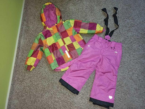 Kurtka, spodnie na zimę, narciarskie. Lupilu