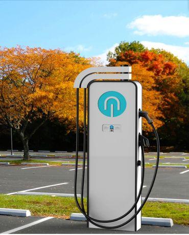 Зарядна станція для електромобілів