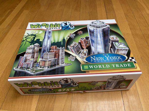 Wrebbit puzzle 3D world trade