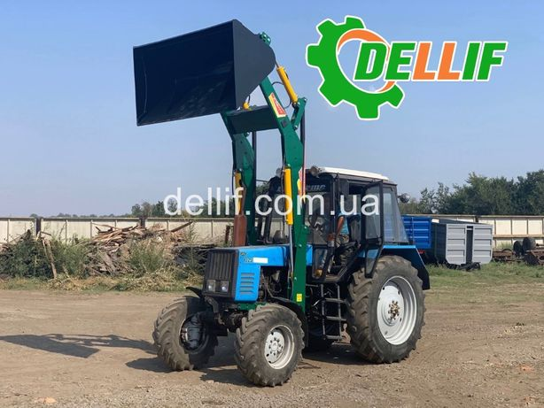 Фронтальный Погрузчик Кун на Трактор МТЗ - Деллиф 1200 с ковшом 1.6 м