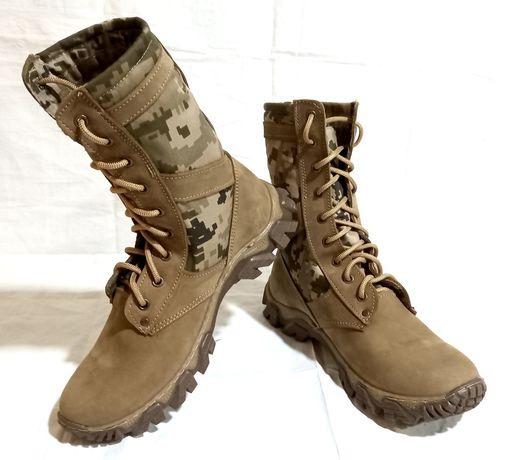 Берцы пиксель ВСУ. Энерджи. Тактическая военная обувь.