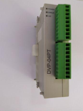 Модуль расширения DVP04PT-S под термосопротивления PT100. Новый.