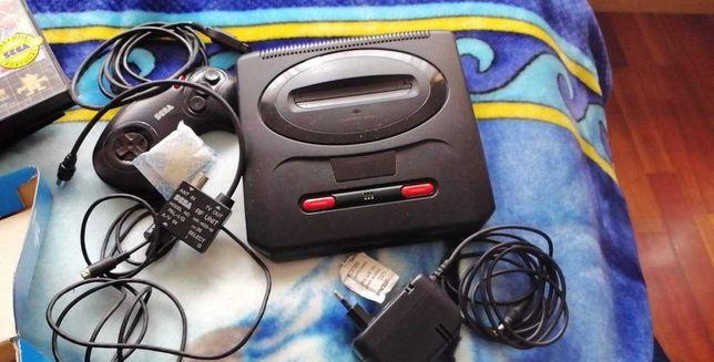 Mega Drive + 8 jogos