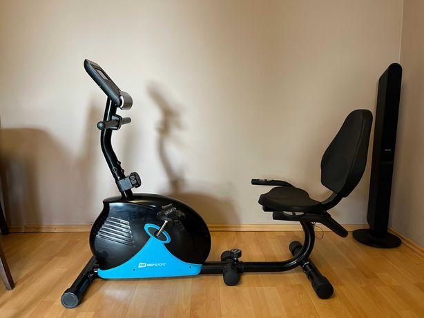 Rower treningowy leżący z oparciem HOP SPORT