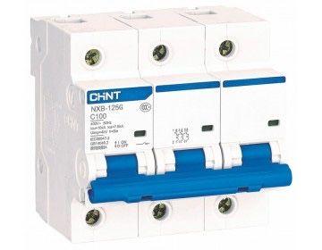 Автоматический выключатель NXB-125 3P C 100A 10kA