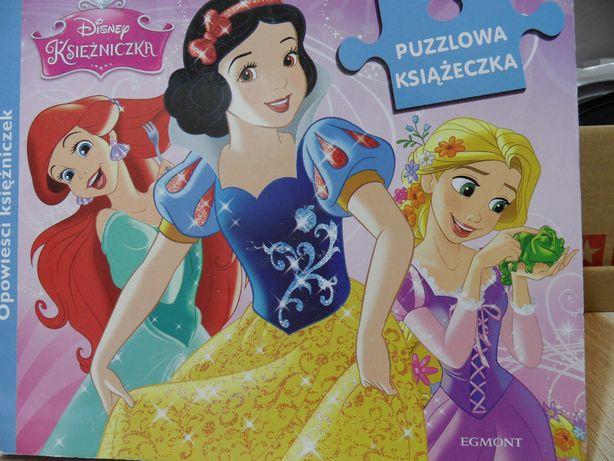 Opowieści księżniczek - Puzzlowa książeczka Disney