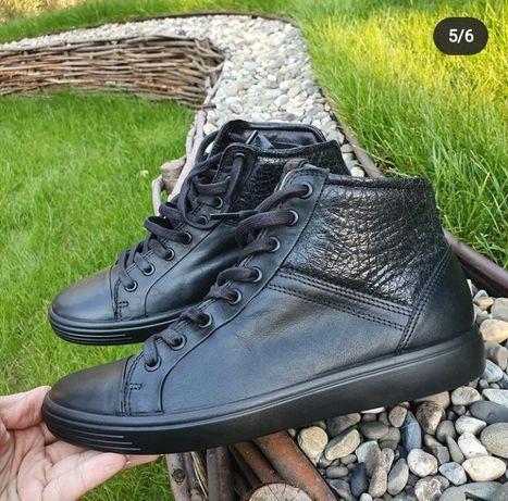 Ecco. Оригинальные женские кеды ботинки от Ecco. Оригинал.