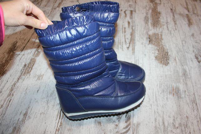 Сапоги ботинки зимние тёплые 34 размер
