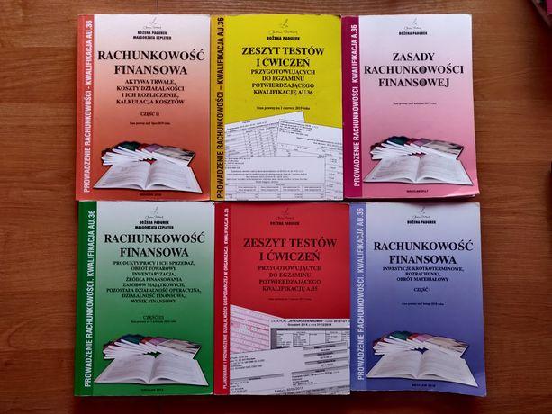 Rachunkowość finansowa podręczniki i ćwiczenia AU.36