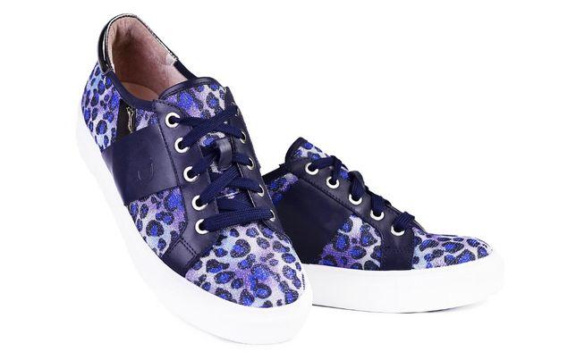 Новые кожаные кеды Бренд Vitto Rossi р.37 Витто Росси синие кроссовки