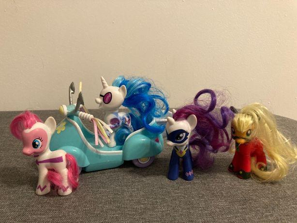 My little Pony Bohaterowie i skuter Pony