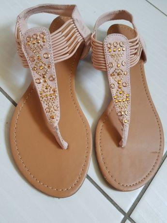 Nowe sandały damskie japonki rozmiar 36