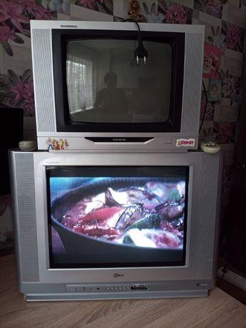 Цветные телевизоры (2 шт)
