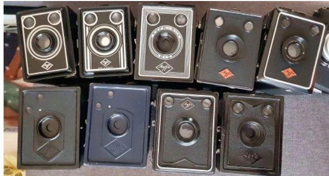 aparat agfa BOX 6x9 cm - 10 szt kodak