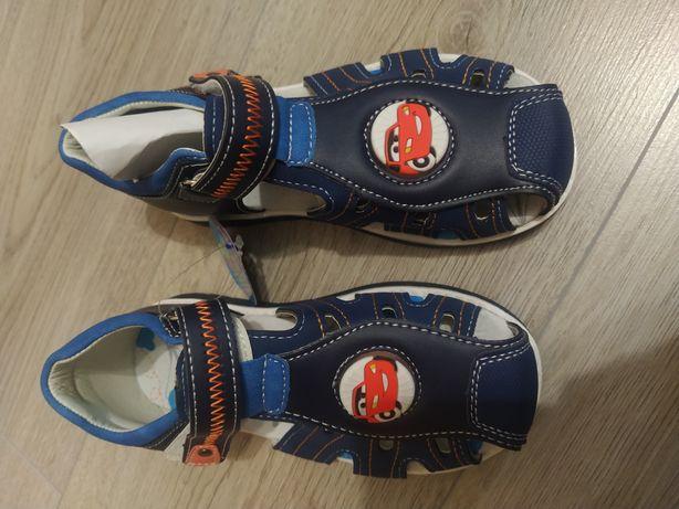 Светящиеся Босоножки сандали для мальчика