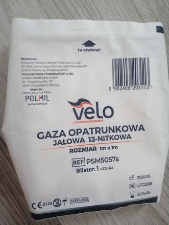 Gaza opatrunkowe 1m x 1m.